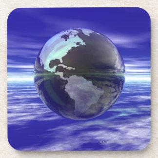 3D Globe 10 Coaster