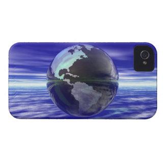 3D Globe 10 iPhone 4 Case