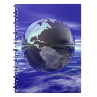 3D Globe 10 Notebook