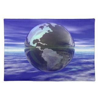 3D Globe 10 Placemat