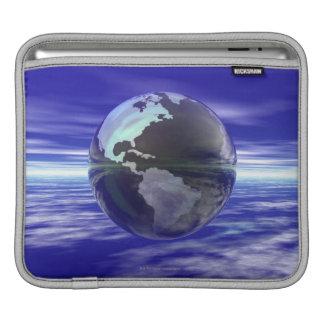 3D Globe 10 Sleeve For iPads