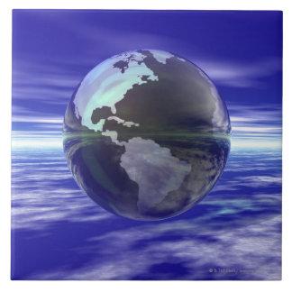 3D Globe 10 Tile