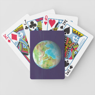 3D Globe 11 Bicycle Playing Cards
