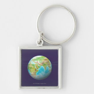 3D Globe 11 Key Ring