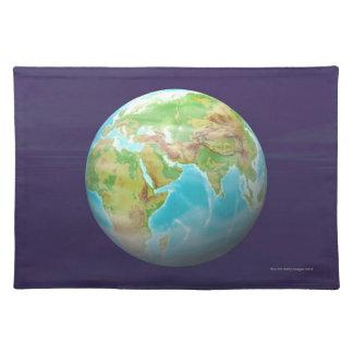 3D Globe 11 Placemat