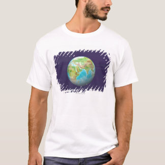 3D Globe 11 T-Shirt