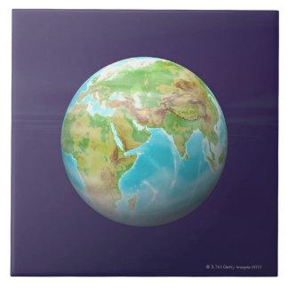 3D Globe 11 Tile