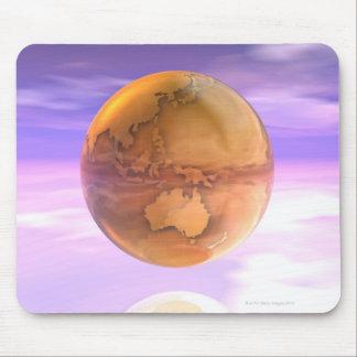 3D Globe 14 Mouse Pad