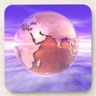 3D Globe 17 Coaster