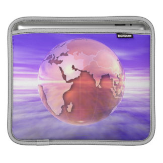 3D Globe 17 iPad Sleeve