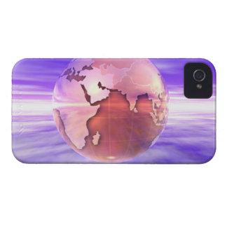 3D Globe 17 iPhone 4 Case-Mate Case