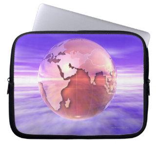 3D Globe 17 Laptop Sleeve