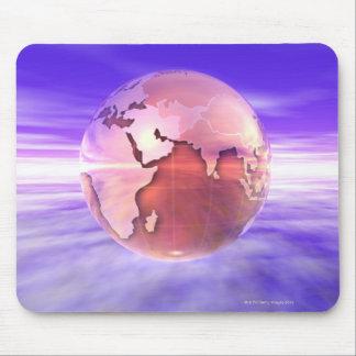 3D Globe 17 Mouse Mat