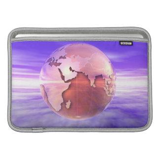 3D Globe 17 Sleeves For MacBook Air