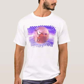 3D Globe 17 T-Shirt