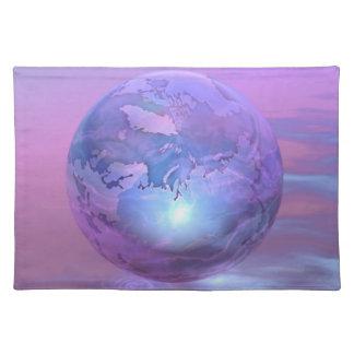 3D Globe 18 Placemat