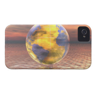 3D Globe 19 Case-Mate iPhone 4 Case