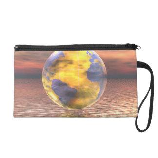 3D Globe 19 Wristlets
