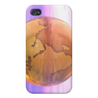 3D Globe 2 iPhone 4 Case