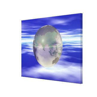 3D Globe 3 Canvas Print