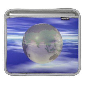 3D Globe 3 iPad Sleeve