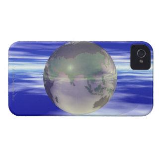 3D Globe 3 iPhone 4 Cover