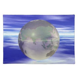 3D Globe 3 Placemat