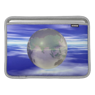 3D Globe 3 Sleeve For MacBook Air