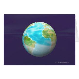 3D Globe 4 Card