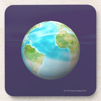 3D Globe 4 Coaster
