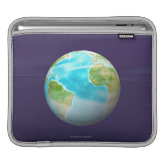 3D Globe 4 iPad Sleeve