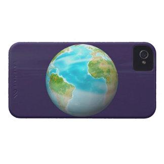 3D Globe 4 iPhone 4 Case-Mate Cases