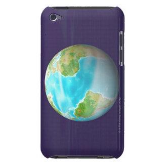 3D Globe 4 iPod Case-Mate Case