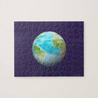 3D Globe 4 Jigsaw Puzzle