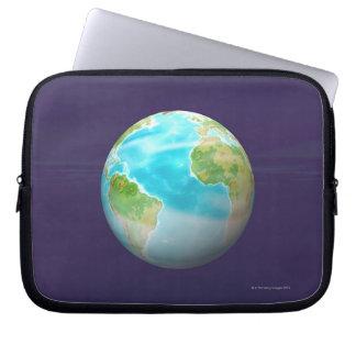3D Globe 4 Laptop Sleeve