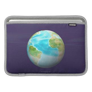 3D Globe 4 MacBook Sleeves