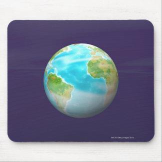 3D Globe 4 Mouse Mat