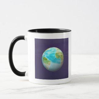 3D Globe 4 Mug