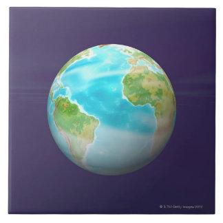 3D Globe 4 Tile