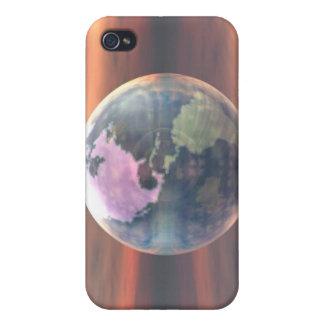 3D Globe 5 iPhone 4/4S Cases