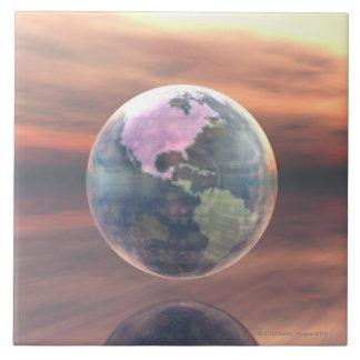3D Globe 5 Tile