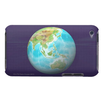 3D Globe 6 Barely There iPod Cases