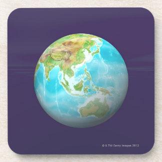 3D Globe 6 Coaster