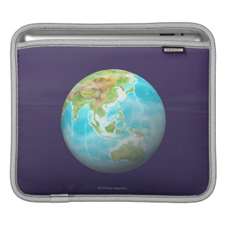 3D Globe 6 iPad Sleeve