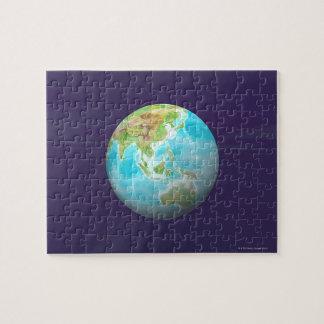 3D Globe 6 Jigsaw Puzzle