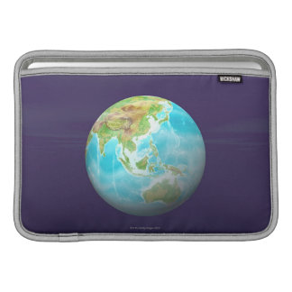3D Globe 6 MacBook Sleeve