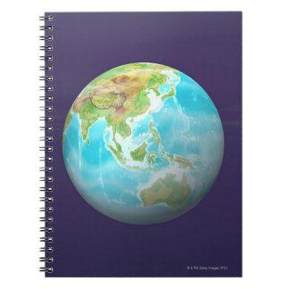 3D Globe 6 Notebooks