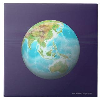 3D Globe 6 Tile