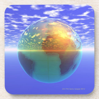 3D Globe 9 Coaster