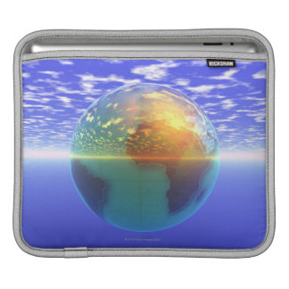 3D Globe 9 iPad Sleeve